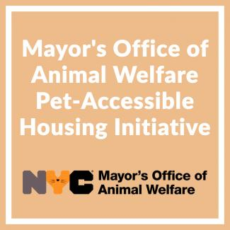 pet accessible housing initiative
